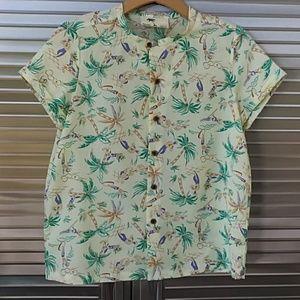 Maison Scotch  Hawaiian shirt S